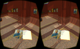 Oculus Rift version: Museum