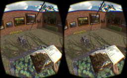 Oculus Rift version: Secret Garden